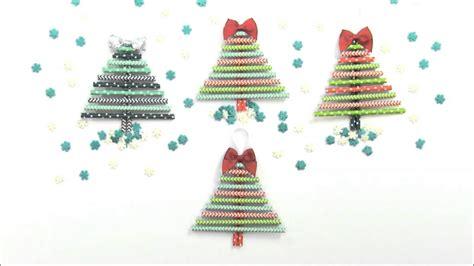 Christmas Tree Straw Ornaments