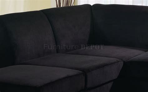 microfiber or leather sofa sectional sofa design wonderful black microfiber