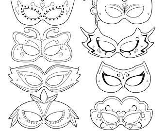 carnival masks template kids drawn masks pattern pencil and in color drawn masks pattern