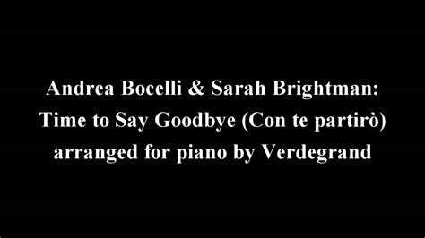 Andrea Bocelli & Sarah Brightman