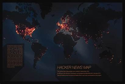 Hacker Map Hackers Screensaver Numbers Gibson Continents