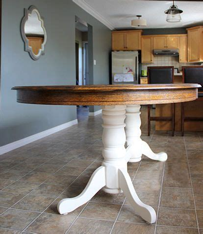 diy refinish   oak table home pine dining table