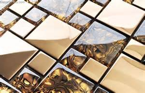 kitchen wall panels backsplash badroom gold adhesive glass mirror tiles 3d tile stickers