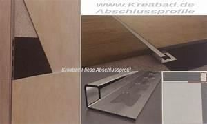 Fliesen Abschlussleiste Edelstahl : fliesen abschlussprofile 10mm 250cm edelstahlschienen v2a ~ Michelbontemps.com Haus und Dekorationen
