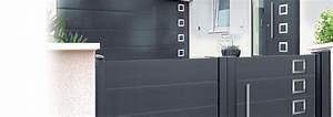fabricant de porte d39entree et portail a frejus With porte de garage basculante avec portillon pour changer serrure porte d entrée 3 points
