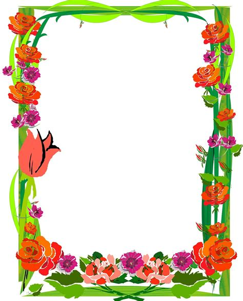 Acuarelas caseras con rotuladores + ideas de papel decorativo. BORDERS FOR KID | Marcos para caratulas, Bordes y marcos y Bordes para caratulas