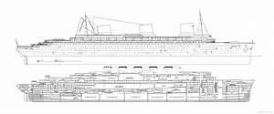 Ss Normandie Ocean Liner 1935 Plans