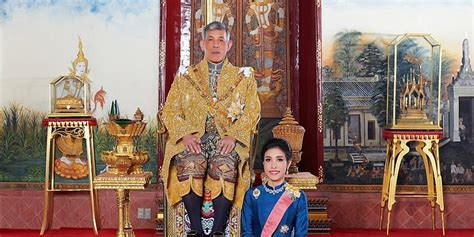 A photograph provided by the thailand royal office shows thai king maha vajiralongkorn bodindradebayavarangkun, left, with sineenat wongvajirapakdi before she was stripped of her title.credit.thailand royal office. Thai king strips dismisses royal consort, accused of plot ...
