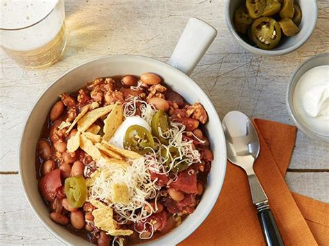 food network the kitchen recipes cooker turkey chili recipe food network kitchen