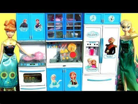 Disney Frozen Luxury Kitchen Toy Set Play Doh Surprise