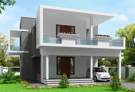 2000 Square Foot Modern House Design — MODERN HOUSE PLAN