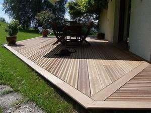 modele de terrasse en bois newsindoco With modele de terrasse en bois
