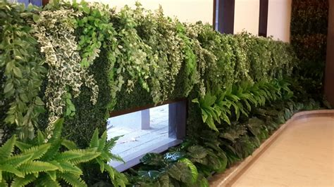 Vertical Garden Cost by Artificial Plants Vertical Green Wall By Ankur Nursery