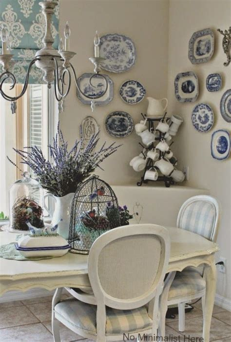 french country kitchen work table romantic decorating