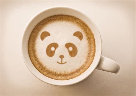 cuisine cappuccino pictures pandas latte coffee cappuccino cup food from