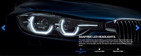 visual comparison of the 3 series lci halogen and led