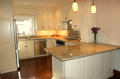 Kitchen Redo Ideas - peninsula modern white kitchen ideas house