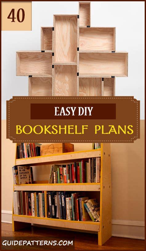 bookcase headboard plans 40 easy diy bookshelf plans guide patterns