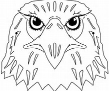 HD Wallpapers Eagle Mask Coloring Page
