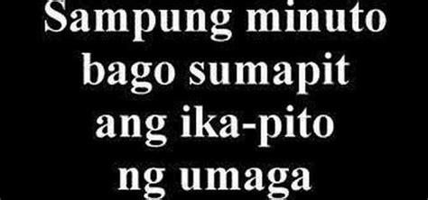 time  tagalog tagalog language