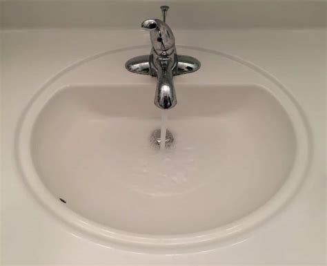 how to drain a sink how to fix a bathroom sink that will not drain