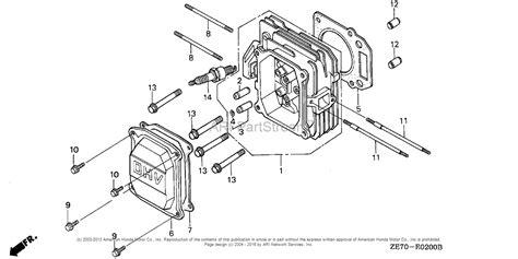 Honda Engines Gxvk Nah Engine Usa Vin