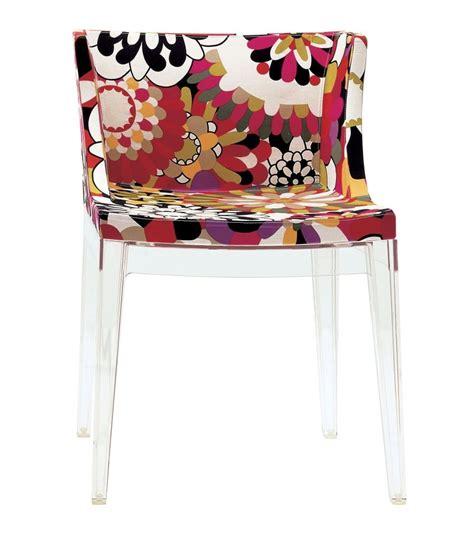 chaise mademoiselle mademoiselle quot à la mode quot missoni chair kartell milia shop