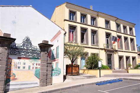 photo 224 vias 34450 vias la mairie peinture murale