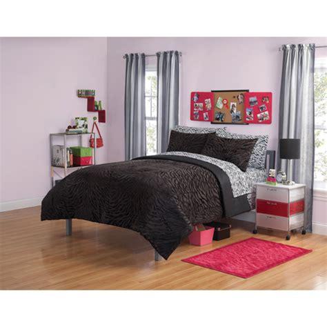your zone mink zebra bedding comforter set walmart com