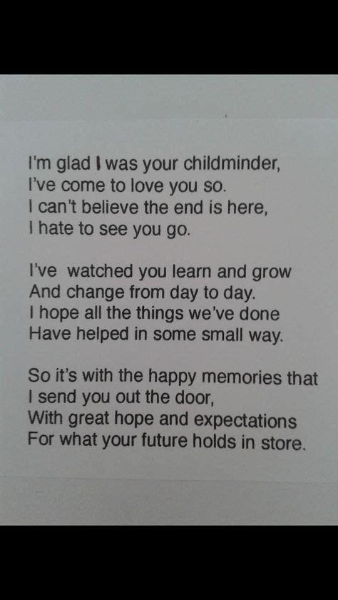 goodbye letter  child leaving daycare letter