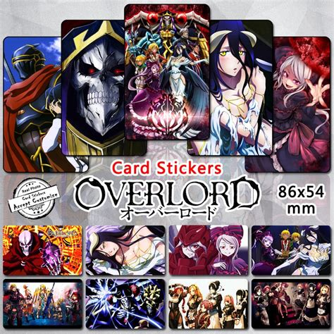 aliexpress buy 35pcs overlord characters stickers