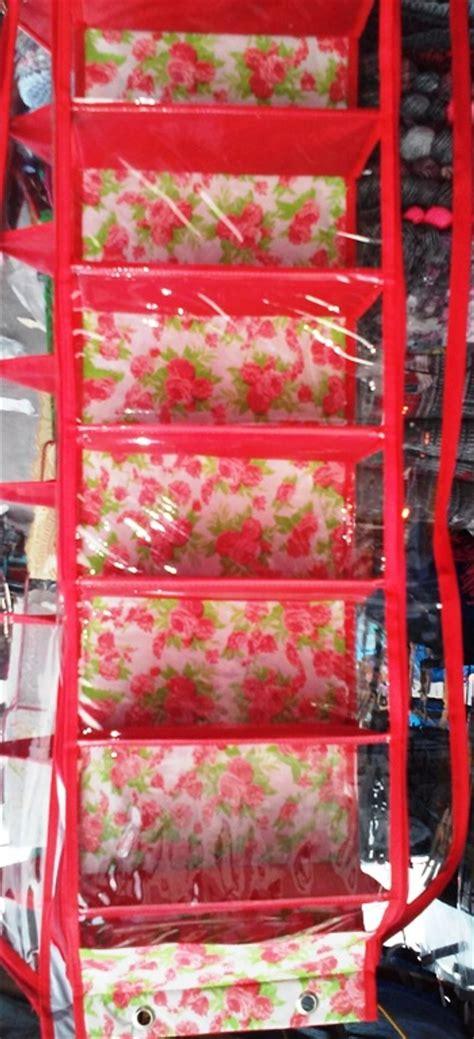 Rak Sepatu Gantung Triplek jual beli rak sepatu gantung resleting gambar bunga