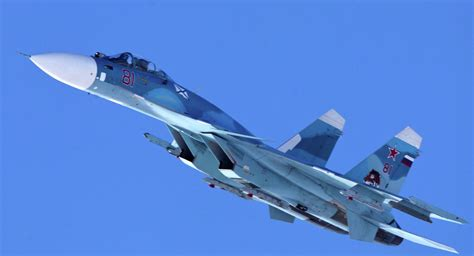 On Stand-By: Russian Carrier Fighters Make Training