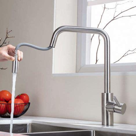 rubinetti cucina con doccetta homelody rubinetto per cucina con doccetta acciaio inox