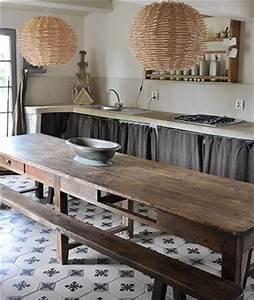 idee decoration salle de bain cuisine avec table With idee deco cuisine avec table de salle a manger en bois