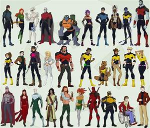 Xmen and Co by cspencey on DeviantArt