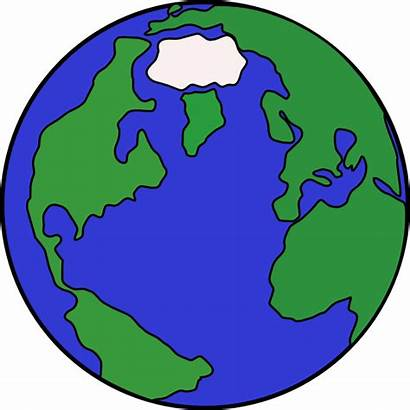 Globe Drawing Clip Clipart Vector Clker