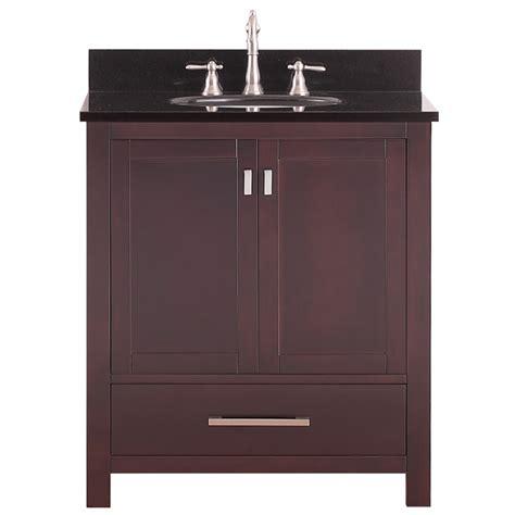 30 inch bathroom sink 30 inch single sink bathroom vanity in espresso