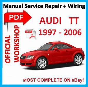 Audi Tt  Contains  All The Factory Specifications  Repair
