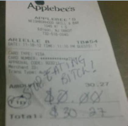 stop eating    kind  tip   leave