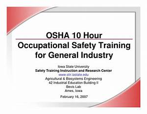 9 best images of printable safety certificates safety for Osha 10 certificate template