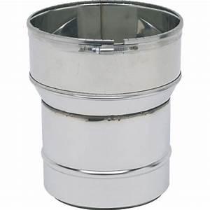 Tubage Flexible Inox 180 : raccord inox avec bagues griffes pour po le et tubage ~ Premium-room.com Idées de Décoration