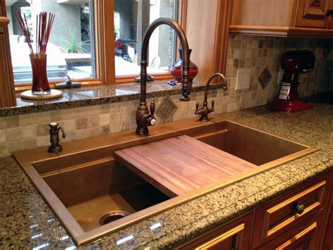 kitchen sink built into countertop five star stone inc countertops modern sink designs to