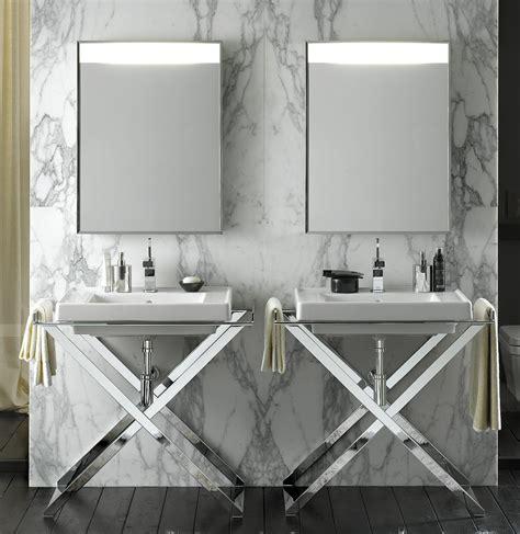 aubade cuisine lavabo design sur pied de salle de bain photo 10 20 un magnifique lavabo plan posé sur une