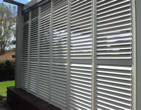 outdoor aluminum plantation shutters sydney