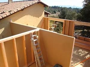 Extension Maison Bois Kit : maison ossature bois agrandissement extension auto ~ Melissatoandfro.com Idées de Décoration