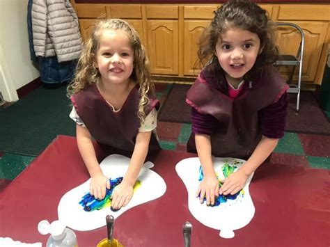 pre kindergarten in draper ut the newcastle school 925 | Evie and Lydia 2018