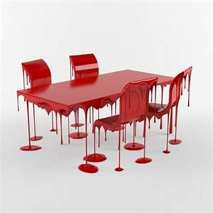 3d models: Table + Chair