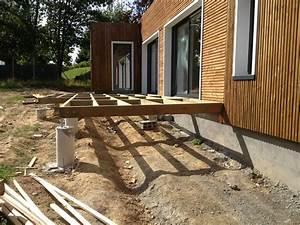 Terrasse Bois Sur Terre : montage terrasse composite sur terre 3 montage de ~ Dailycaller-alerts.com Idées de Décoration