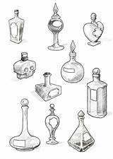 Potion Tattoo Bottle Bottles Wonderland Alice Tattoos Deviantart Drawing Filler Cool Google Little Coloring Drawings Sketches Flash Witch Doodle Jar sketch template